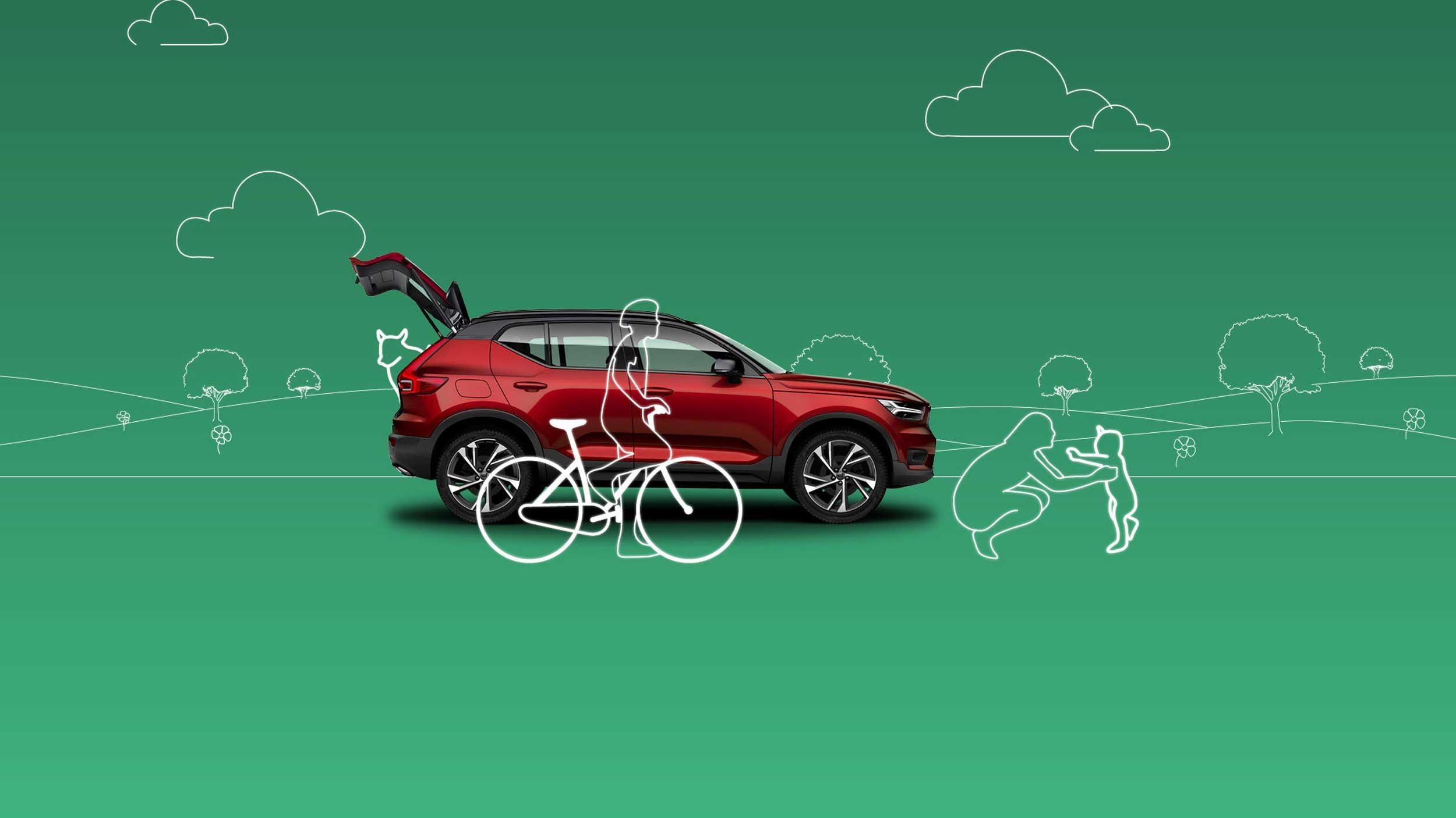 Volvo Van Houdt De lente hangt in de lucht