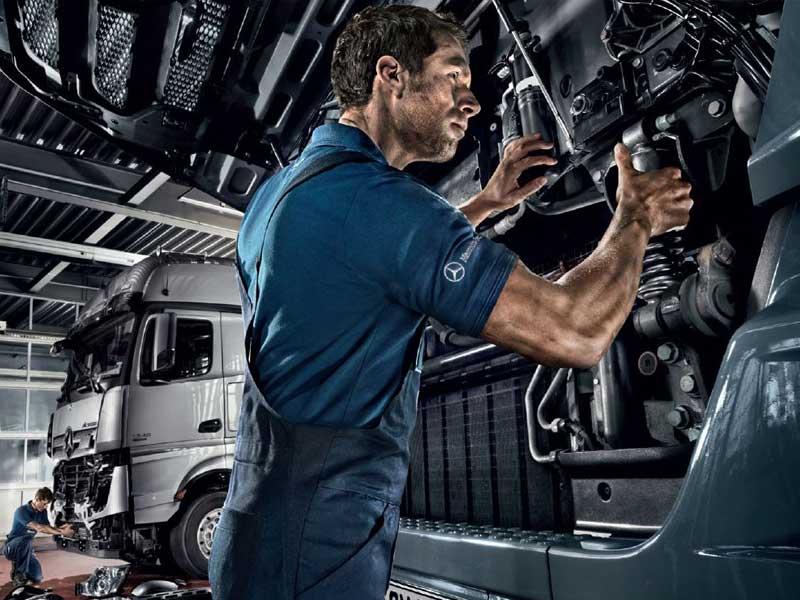 Mécanicien Truck