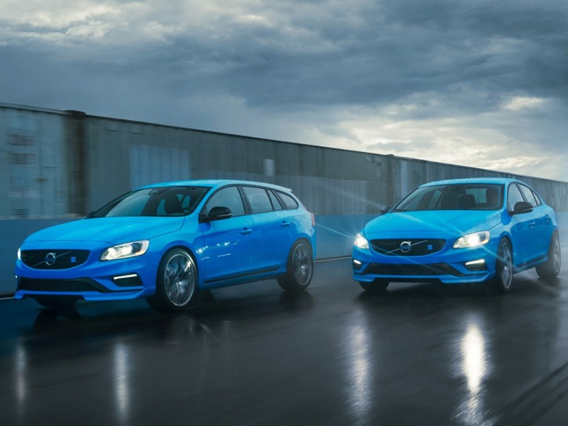 Geactualiseerde Volvo S60 en V60 Polestar met aerodynamische verbeteringen