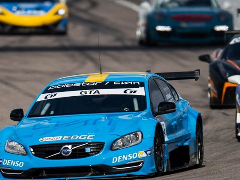 Promising but fruitless first Swedish GT race at Anderstorp