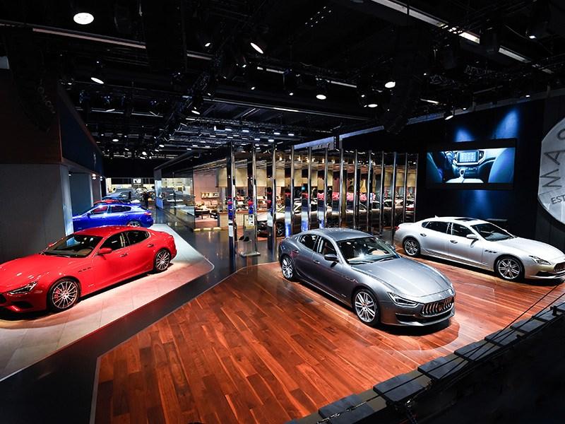 Maserati reveals new Ghibli and presents Levante, Quattroporte, GranTurismo and GranCabrio MY18 at Frankfurt Motor Show