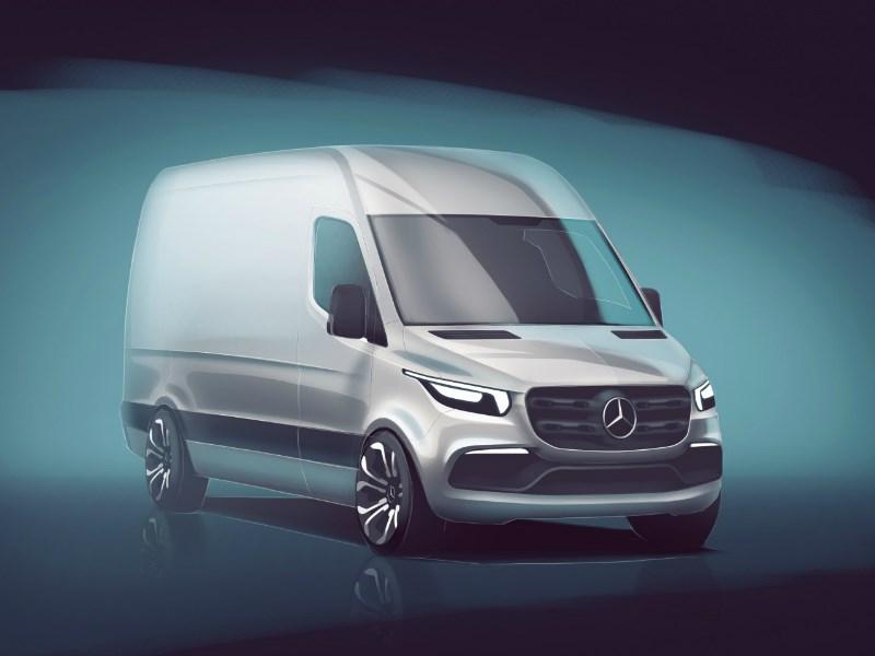 Mercedes-Benz Vans onthult eerste details nieuwe Sprinter