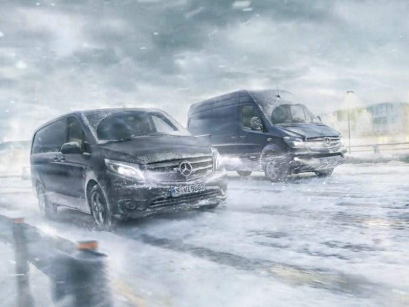 Bescherm uw bestelwagen tegen Koning Winter