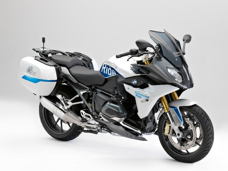BMW Motorrad stelt de R 1200 RS ConnectedRide voor