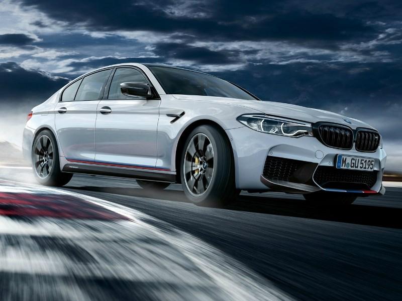 Verhoogde prestaties, individueel karakter en een echt racegevoel. Exclusieve M Performance onderdelen voor de nieuwe BMW M5.