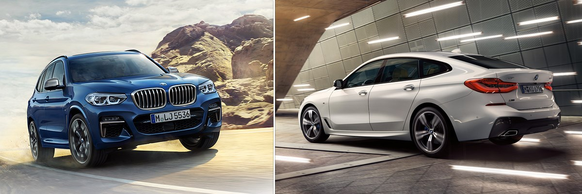 Lanceringsweek BMW 6 Gran Turismo & BMW X3