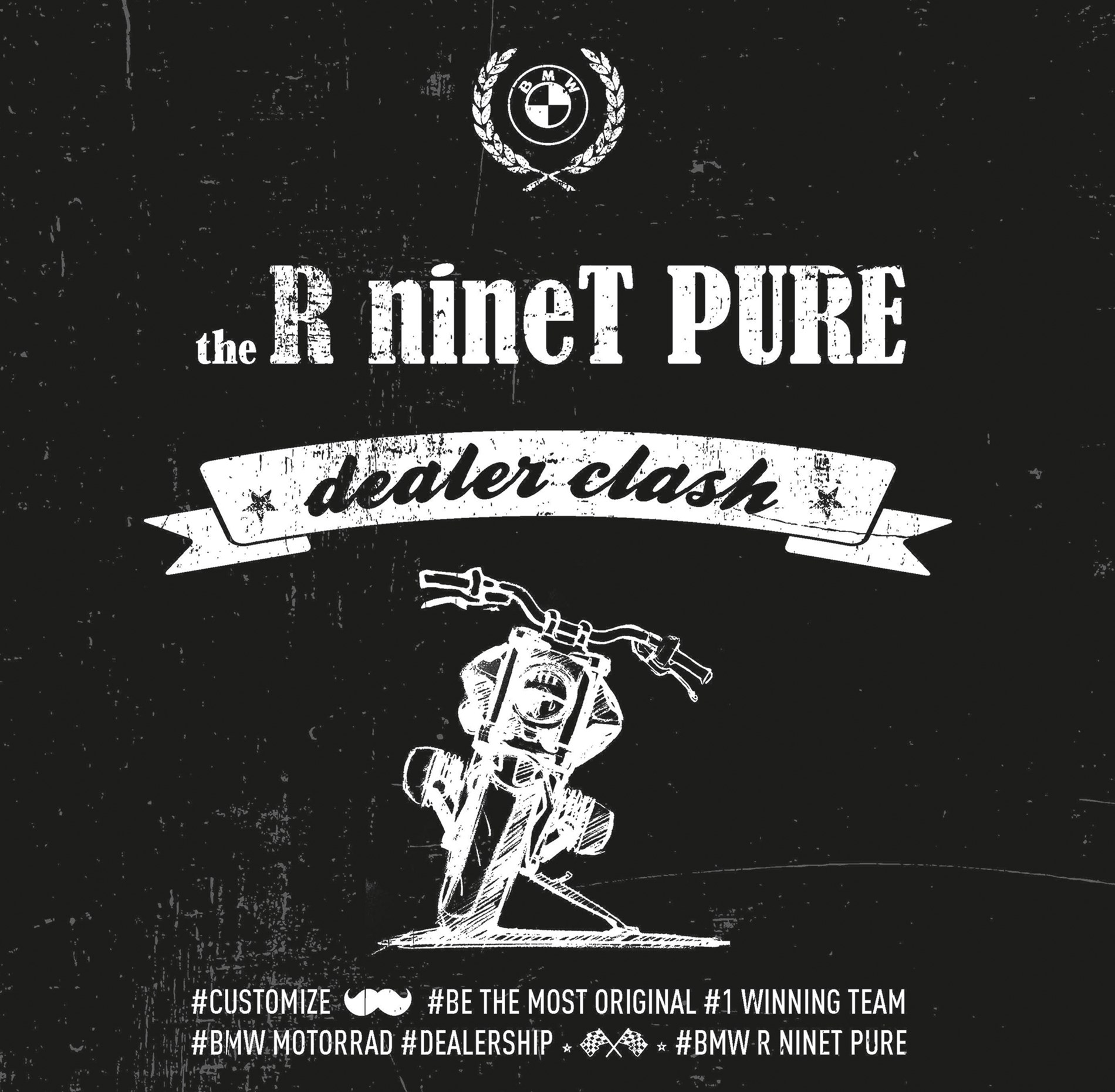 "De R nineT Pure ""Dealer Clash""."