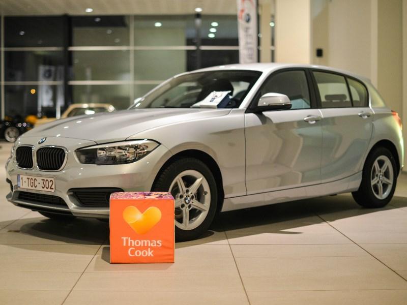 Thomas Cook Belgium reist in eigen land voortaan met wagens van BMW Peter Daeninck.