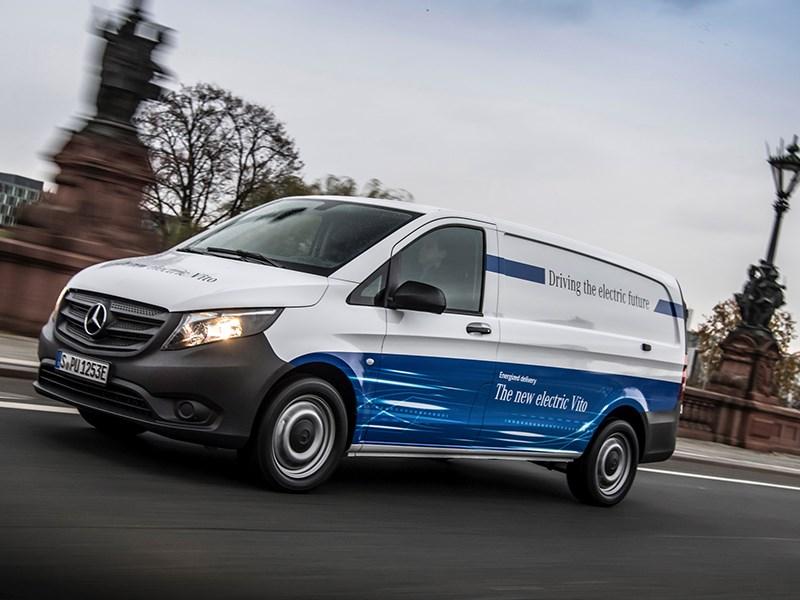 Elektrische aandrijving voor alle modellen van Mercedes-Benz Vans