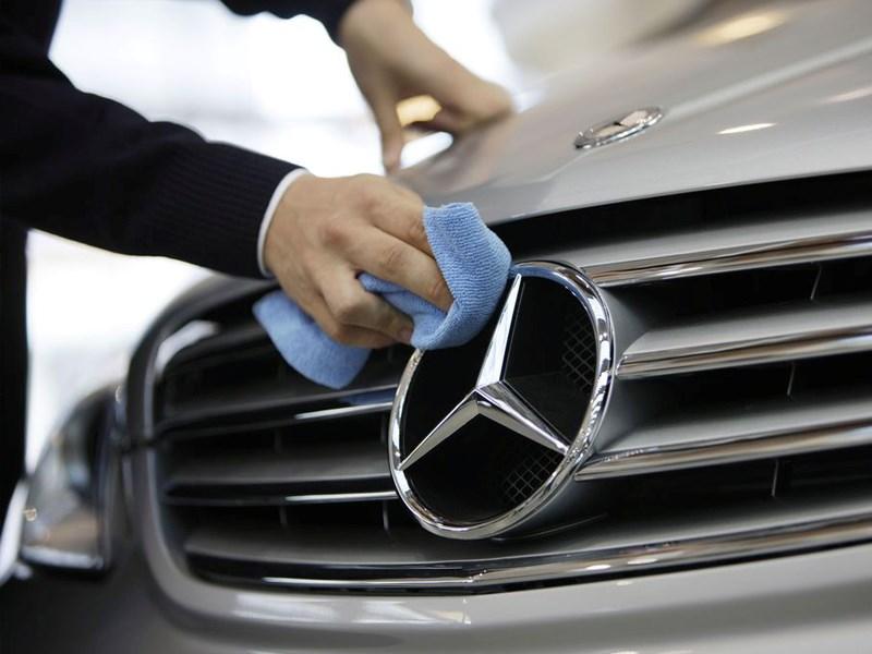 Produits d'entretien Mercedes-Benz