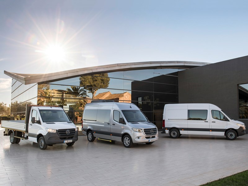 Mercedes-Benz présente le Sprinter troisième génération