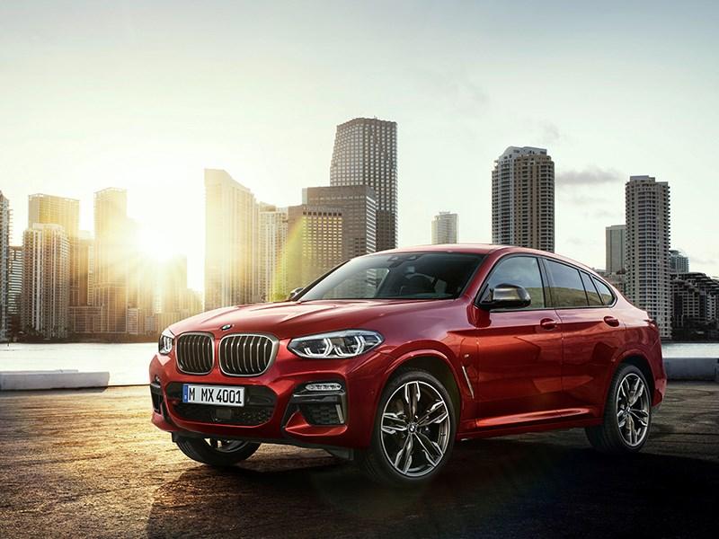 De nieuwe BMW X4.
