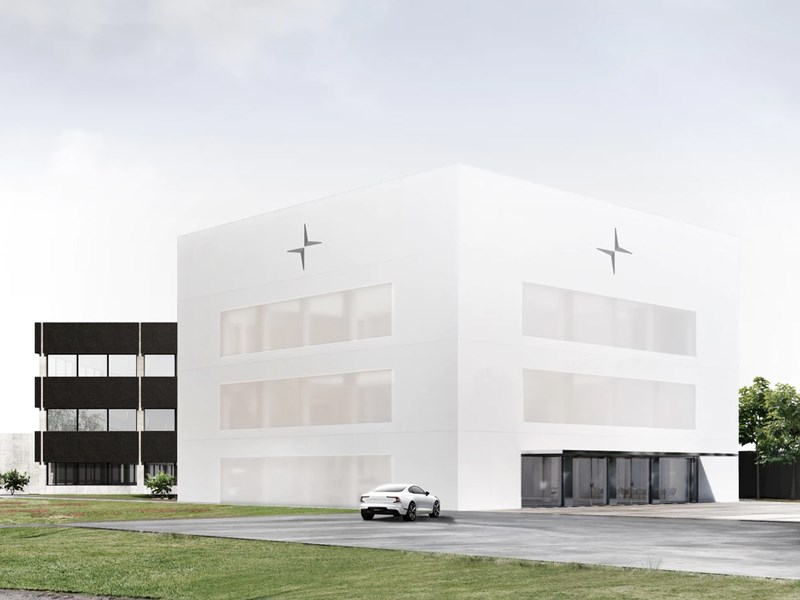 Polestar has started construction of a new headquarter building located in Torslanda