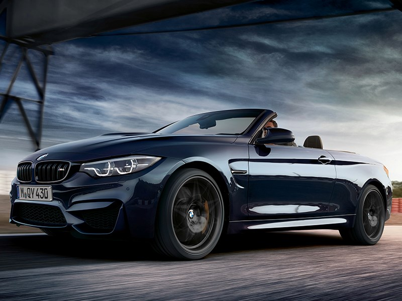 De BMW M4 Cabrio Edition 30 Years.