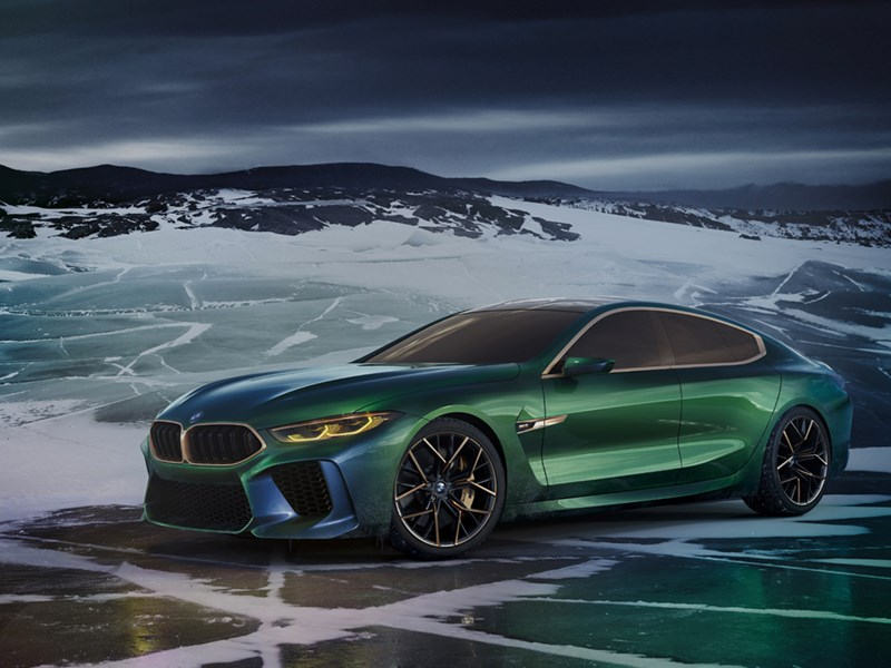 De BMW Concept M8 Gran Coupé: een nieuwe interpretatie van luxe voor het merk BMW.