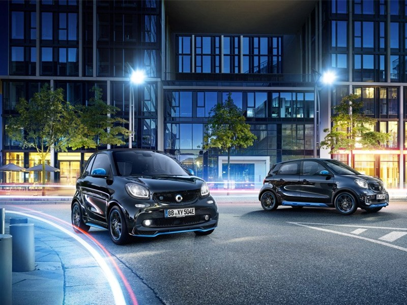 smart EQ fortwo/forfour edition nightsky