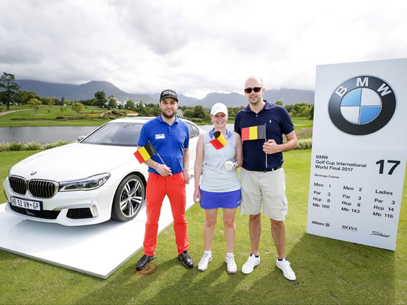 België eindigt op zesde plaats in de wereldfinale van de BMW Golf Cup 2017.