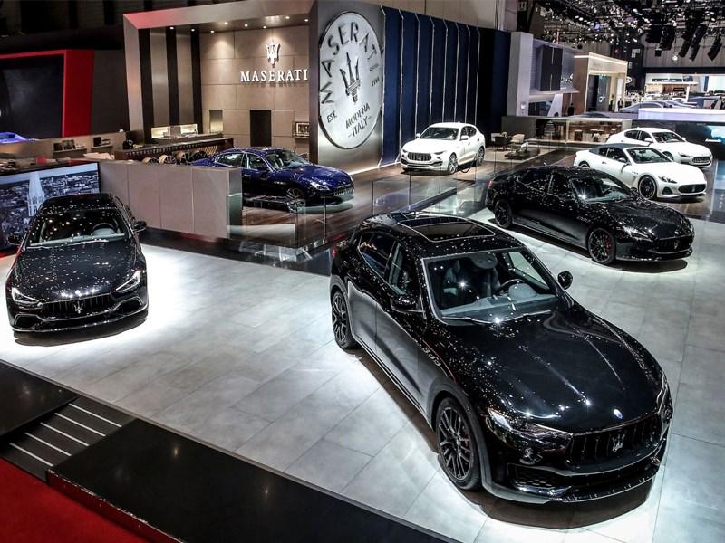 Maserati chooses 88th Geneva Motor Show for European premiere of Ghibli, Quattroporte and Levante Nerissimo Edition