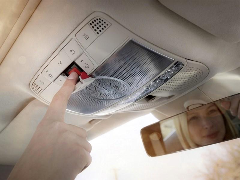 Système d'appel d'urgence Mercedes-Benz