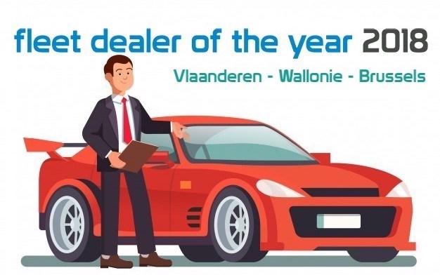 Verkies BMW Van den Broeck tot Fleet Dealer of the Year 2018 !
