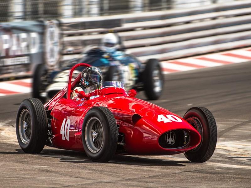 An array of classic Maserati devoured the bends at the 11th edition of the Grand Prix de Monaco Historique