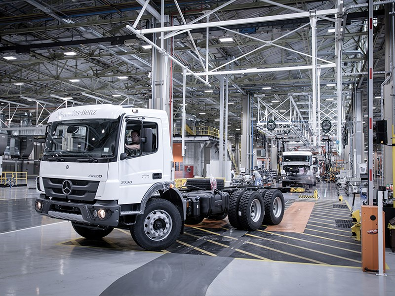 Industry 4.0 : Daimler Trucks révolutionne la production de camions au Brésil