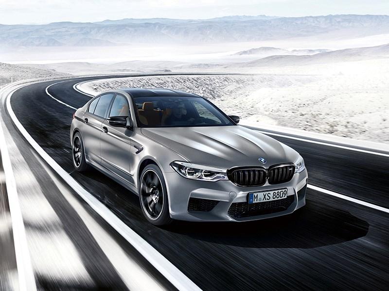 De nieuwe BMW M5 Competition.