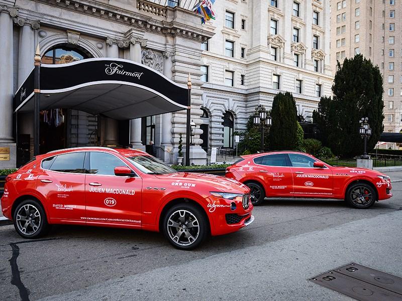 Maserati joins Cash & Rocket Tour 2018