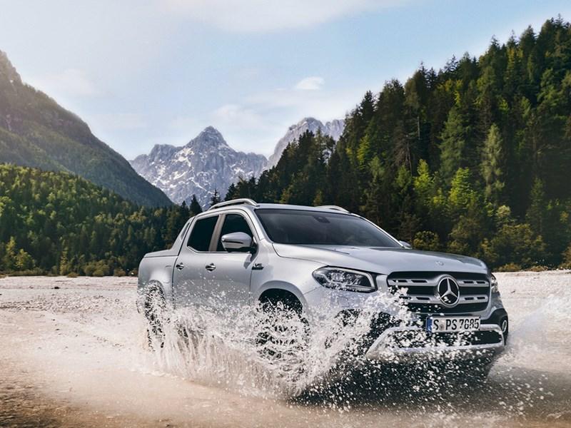 Un V6 et une transmission intégrale permanente pour la Classe X : un pick-up hautes performances taillé pour la vie active