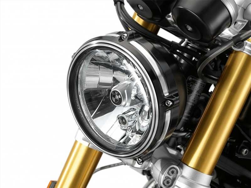 BMW Motorrad : accessoires « Machined » pour les BMW R NineT.