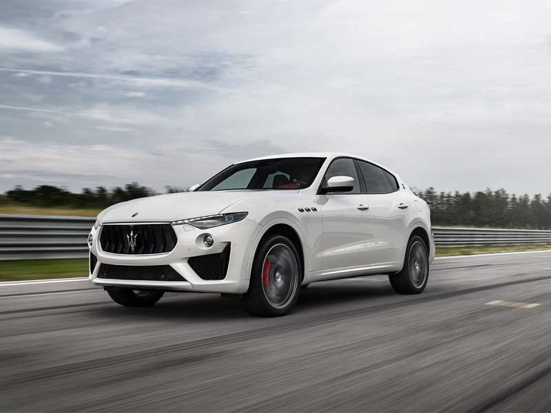 World Premiere of the V8 Levante GTS at Goodwood Festival of Speed.