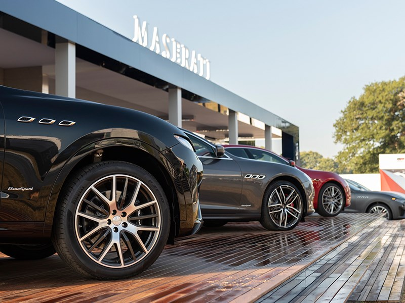 Maserati Levante, Ghibli and Quattroporte MY19 ranges at Goodwood Festival of Speed