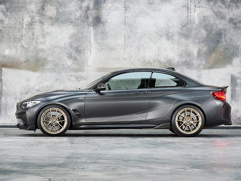 Wereldpremière en dynamische verschijning van BMW M Performance Parts Concept in Goodwood.