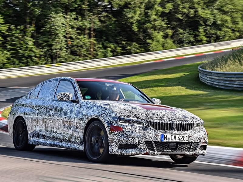 Nieuwe BMW 3 Serie Berline: vuurdoop in de 'Groene Hel'.