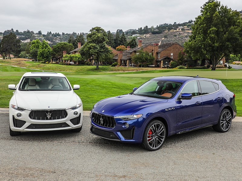 Maserati stars at the 2018 Monterey Car Week with the new V8-powered Levante GTS and Trofeo SUVs