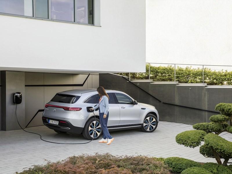 Le nouveau EQC: La Mercedes des voitures électriques