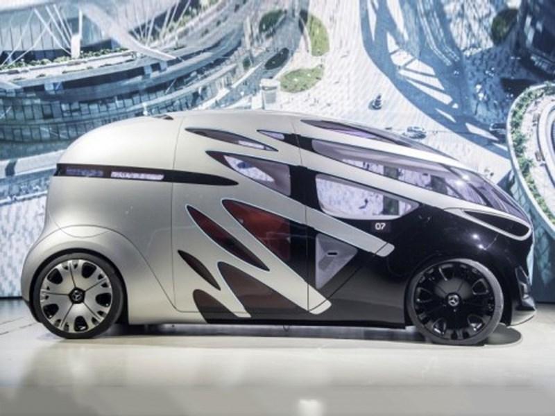 Mercedes-Benz Vans dévoile un nouveau concept de mobilité autonome
