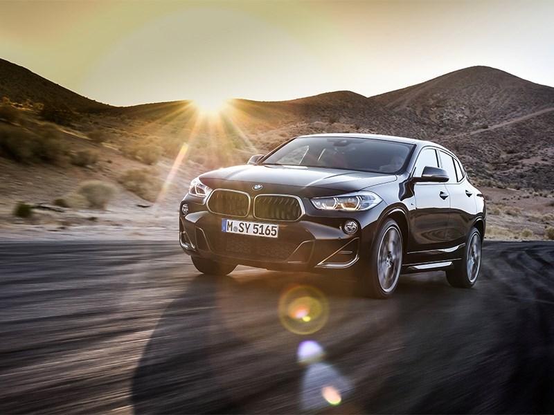 De nieuwe BMW X2 M35i