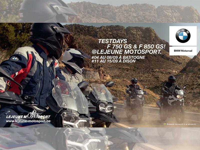 Test Days F750GS & F850GS !