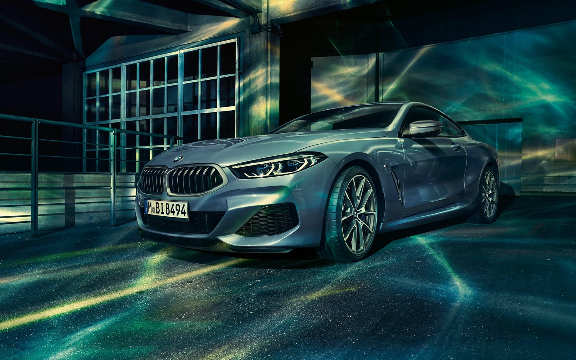 Lancering BMW 8 Reeks