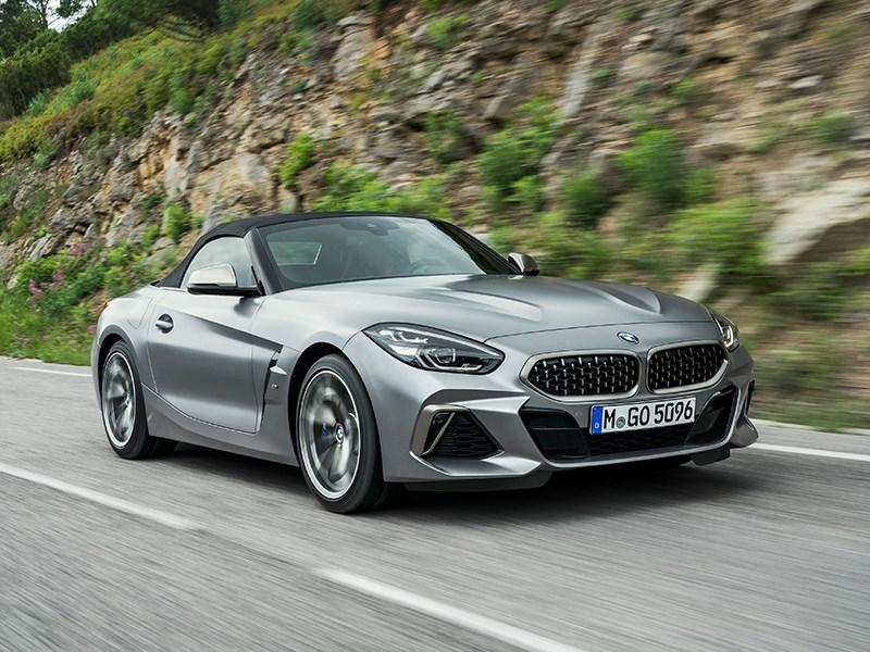 De nieuwe BMW Z4.