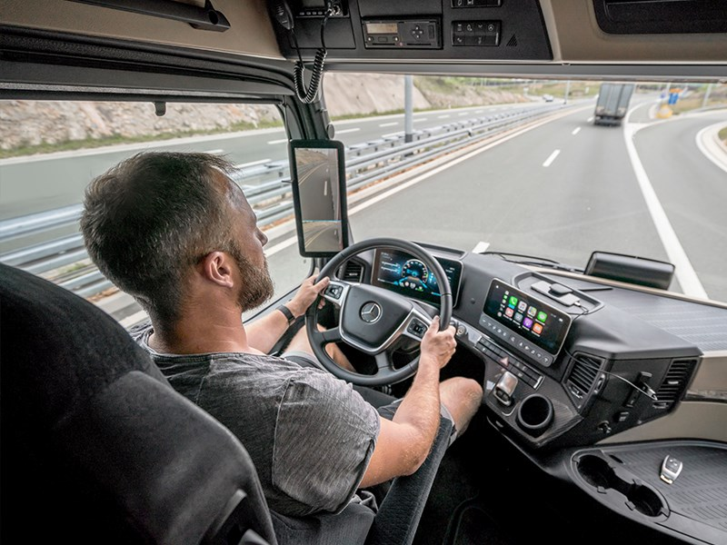 Nouvel Actros avec Active Drive Assist