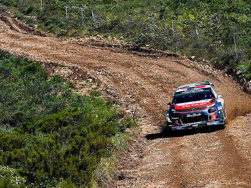 De C3 WRC maakt kennis met Turkije