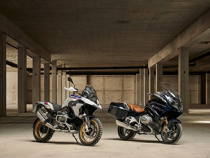 De nieuwe BMW R 1250 GS en BMW R 1250 RT.