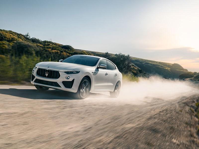 Maserati Levante GTS named