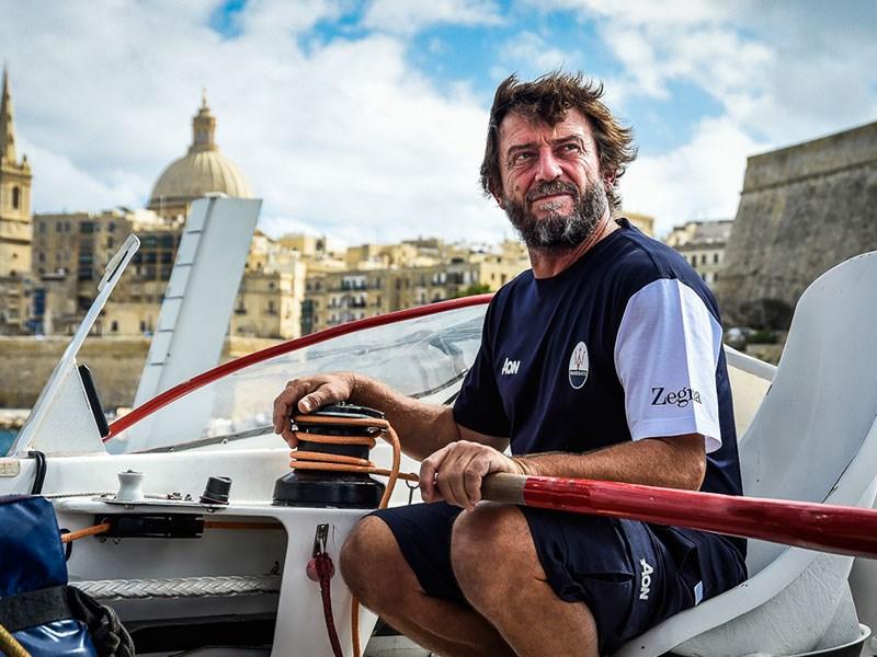 Giovanni Soldini and Maserati Multi 70's Team started the 39th Rolex Middle Sea Race