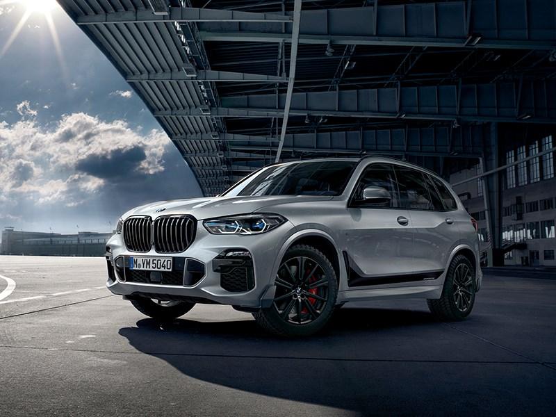 De nieuwe BMW X5 met M Performance Parts.