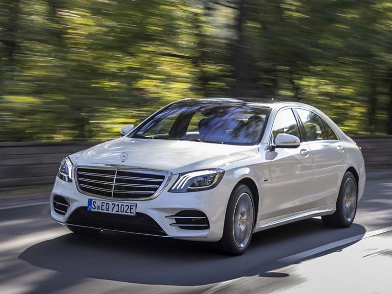 Car Avenue Lancement des ventes de la Classe S hybride rechargeable