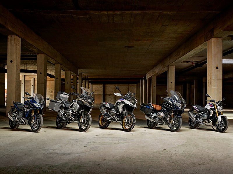 De nieuwe BMW R 1250 R, R 1250 RS en R 1250 GS Adventure.