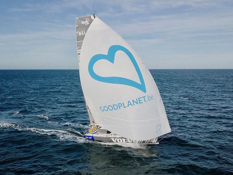Jonas Gerckens, op weg met GoodPlanet Belgium